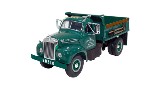 collectible trucks diecast trucks suzio york hill Old Mack Trucks mack b model single axle dump truck